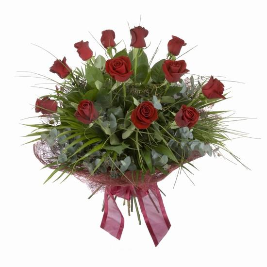 Etkileyici buket 11 adet kirmizi gül buketi  Kayseri çiçek online çiçek gönderme sipariş