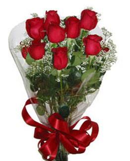 Çiçek sade gül buketi 7 güllü buket  Kayseri çiçek 14 şubat sevgililer günü çiçek