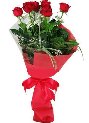 7 adet kirmizi gül buketi  Kayseri çiçek çiçek gönderme