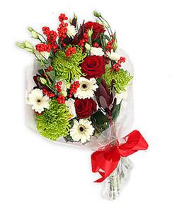 Karisik mevsim buketi çiçek tanzimi  Kayseri çiçek cicekciler , cicek siparisi