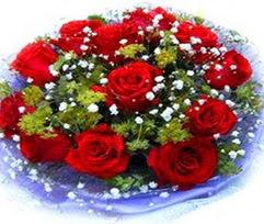 9 adet kirmizi güllerden buket  Kayseri çiçek hediye çiçek yolla