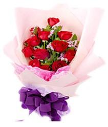 7 gülden kirmizi gül buketi sevenler alsin  Kayseri çiçek çiçek satışı