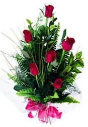 Kayseri kocasinan çiçek İnternetten çiçek siparişi  5 adet kirmizi gül buketi hediye ürünü