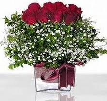 Kayseri çiçek online çiçek gönderme sipariş  mika yada cam vazo içerisinde 7 adet gül