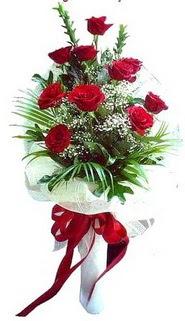 Kayseri çiçek internetten çiçek satışı  10 adet kirmizi gül buketi demeti