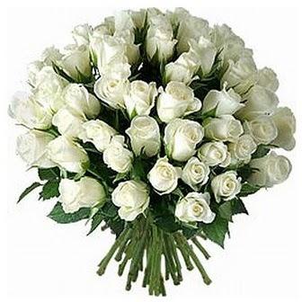 Kayseri çiçek yurtiçi ve yurtdışı çiçek siparişi  33 adet beyaz gül buketi