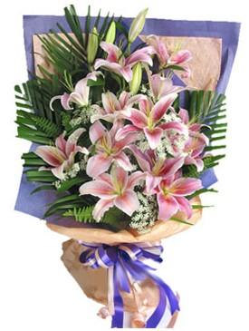 7 dal kazablankadan görsel buket  Kayseri çiçek çiçek yolla , çiçek gönder , çiçekçi
