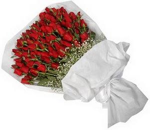 Kayseri akkışla çiçek çiçekçi telefonları  51 adet kırmızı gül buket çiçeği