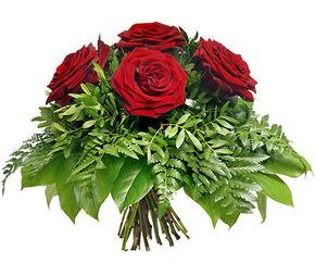 Kayseri çiçek online çiçekçi , çiçek siparişi  5 adet kırmızı gülden buket