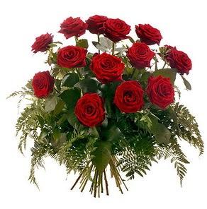 Kayseri çiçek online çiçek gönderme sipariş  15 adet kırmızı gülden buket