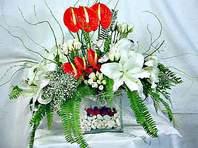 Kayseri çiçek online çiçekçi , çiçek siparişi  Anthurim Kazablanka  gül