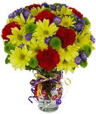 En güzel hediye karışık mevsim çiçeği  Kayseri çiçek çiçekçiler