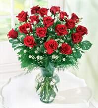 Kayseri çiçek online çiçek gönderme sipariş  9 adet mika yada vazoda kirmizi güller