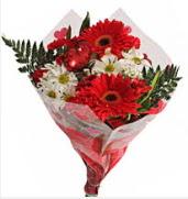 Mevsim çiçeklerinden görsel buket  Kayseri çiçek cicek , cicekci