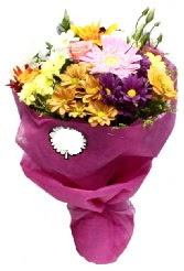 1 demet karışık görsel buket  Kayseri çiçek çiçek mağazası , çiçekçi adresleri