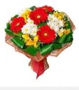 1 demet karışık buket  Kayseri çiçek kaliteli taze ve ucuz çiçekler