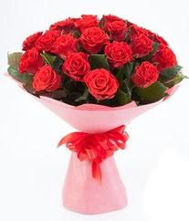 15 adet kırmızı gülden buket tanzimi  Kayseri çiçek çiçek siparişi vermek