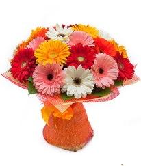 Renkli gerbera buketi  Kayseri çiçek çiçek mağazası , çiçekçi adresleri