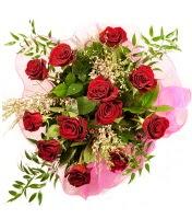 12 adet kırmızı gül buketi  Kayseri çiçek çiçek servisi , çiçekçi adresleri