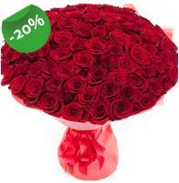 Özel mi Özel buket 101 adet kırmızı gül  Kayseri çiçek çiçek mağazası , çiçekçi adresleri