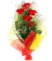 5 li kırmızı gül buketi  Kayseri çiçek online çiçek gönderme sipariş