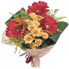 karışık mevsim buketi  Kayseri çiçek internetten çiçek siparişi
