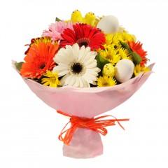 Karışık mevsim buketi Mevsimsel çiçek  Kayseri çiçek cicekciler , cicek siparisi