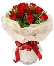 12 adet kırmızı gül buketi  Kayseri çiçek çiçek mağazası , çiçekçi adresleri