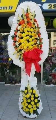 Çift katlı düğün nikah açılış çiçeği  Kayseri kocasinan çiçek İnternetten çiçek siparişi