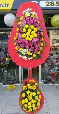 Çift katlı düğün nikah açılış çiçek modeli  Kayseri çiçek 14 şubat sevgililer günü çiçek
