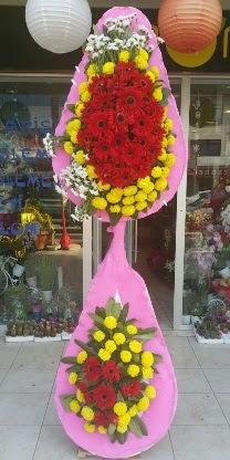 Çift katlı düğün nikah açılış çiçek modeli  Kayseri çiçek cicek , cicekci