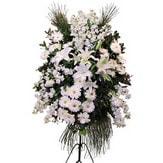 Kayseri çiçek anneler günü çiçek yolla  Ferforje beyaz renkli kazablanka