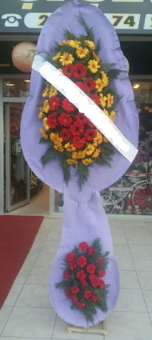 Çift katlı nikah düğüne çiçek modeli  Kayseri çiçek cicekciler , cicek siparisi