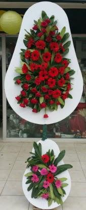 Çift katlı düğün nikah açılış çiçek modeli  Kayseri çiçek cicekciler , cicek siparisi