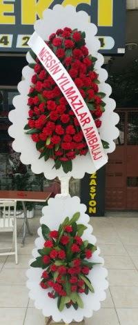 Çift katlı düğün nikah çiçeği modeli  Kayseri çiçek çiçekçiler