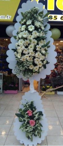 Çift katlı düğün nikah açılış çiçeği  Kayseri çiçek hediye çiçek yolla