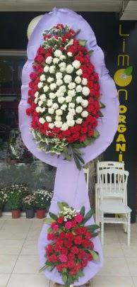 Çift katlı işyeri açılış çiçek modeli  Kayseri çiçek internetten çiçek satışı