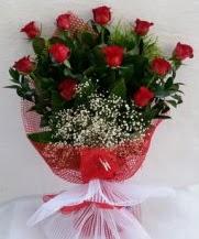 11 adet kırmızı gülden görsel çiçek  Kayseri çiçek çiçekçi mağazası