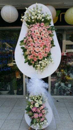 Çift katlı özel şahane sepet çiçeği  Kayseri çiçek hediye çiçek yolla
