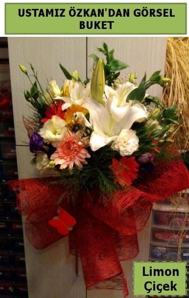 Karışık görsel mevsim çiçeği  Kayseri çiçek internetten çiçek satışı