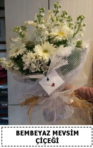 Bembeyaz görsel mevsim çiçek buketi  Kayseri özvatan çiçek çiçek , çiçekçi , çiçekçilik