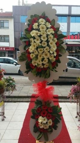 Çift katlı düğün açılış çiçeği  Kayseri çiçek çiçekçi mağazası