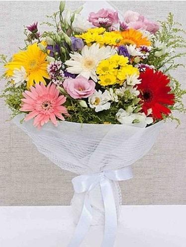 Karışık Mevsim Buketleri  Kayseri çiçek internetten çiçek satışı