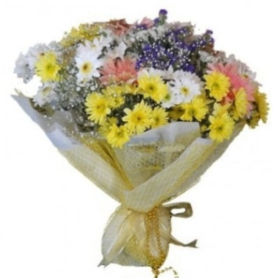 Karışık mevsim çiçeği  Kayseri çiçek çiçekçi mağazası