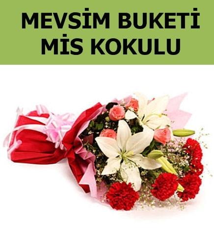 Karışık mevsim buketi mis kokulu bahar  Kayseri çiçek internetten çiçek satışı