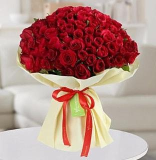 101 adet kırmızı gül buketi koca demet  Kayseri çiçek cicekciler , cicek siparisi