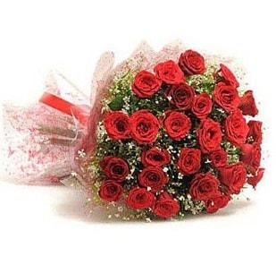 27 Adet kırmızı gül buketi  Kayseri çiçek internetten çiçek satışı