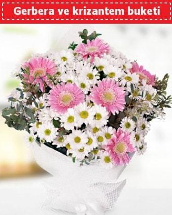 Papatya ve Gerbera Buketi  Kayseri çiçek çiçek siparişi sitesi