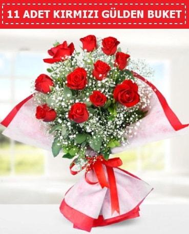 11 Adet Kırmızı Gül Buketi  Kayseri çiçek cicekciler , cicek siparisi