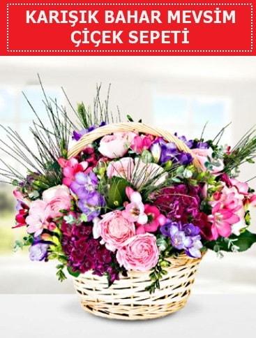 Karışık mevsim bahar çiçekleri  Kayseri çiçek internetten çiçek satışı